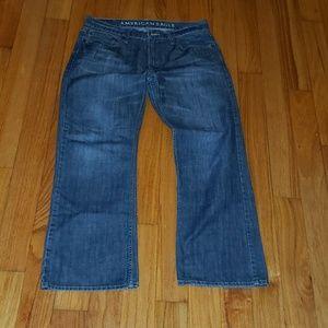 Men's American Eagle 32x30 Low Rise Bootcut Jeans